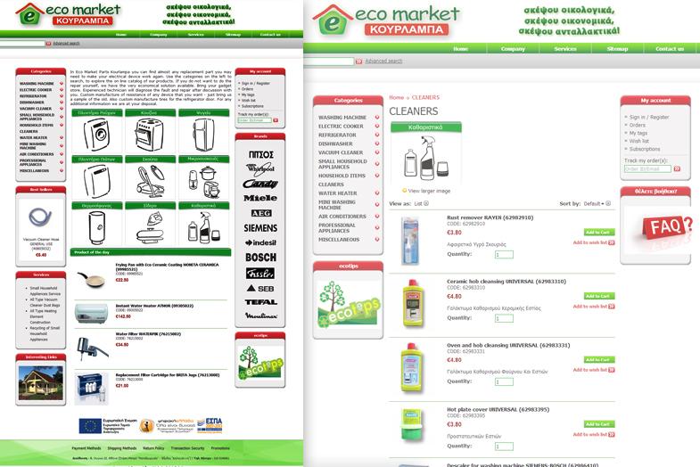 Eco Market Κουρλαμπά